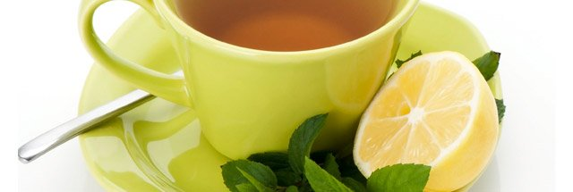 greentea and lemon